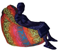 Giant Beanbag Cover : Rainbow Fractal - Accessories - Beanbags & Cushions - Space Tribe
