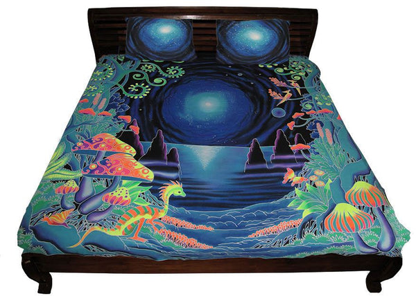 King-size Bedset : Space Jungle - Bedding - Space Tribe