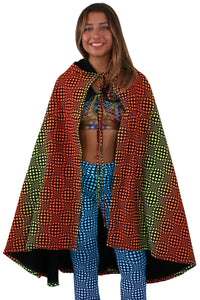 Hooded Cape : Fire Wobberelli