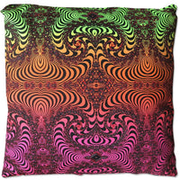 Cushion cover 40 cm : Fire Fractal - Accessories - Beanbags & Cushions - Space Tribe
