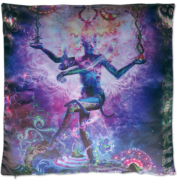 Cushion cover 50 cm : Serpentine Apotheosis - Accessories - Beanbags & Cushions - Space Tribe