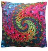 Cushion cover 40 cm : Whirlpool Fractal - Beanbags & Cushions - Space Tribe