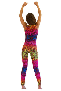 Catsuit : Rainbow Fractal - Women Catsuits - Space Tribe