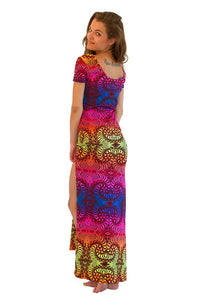 Slinky Dress  : Rainbow Fractal