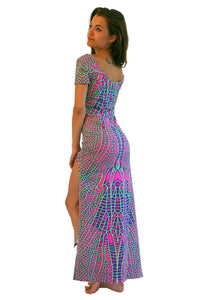 Slinky Dress  : Acid Dragonfly
