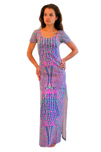 Slinky Dress  : Acid Dragonfly - Women Dresses - Space Tribe