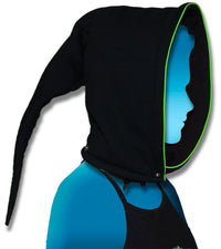 Morph Jacket Pixie Hood : Lime Triskelion - Men Jackets - Space Tribe