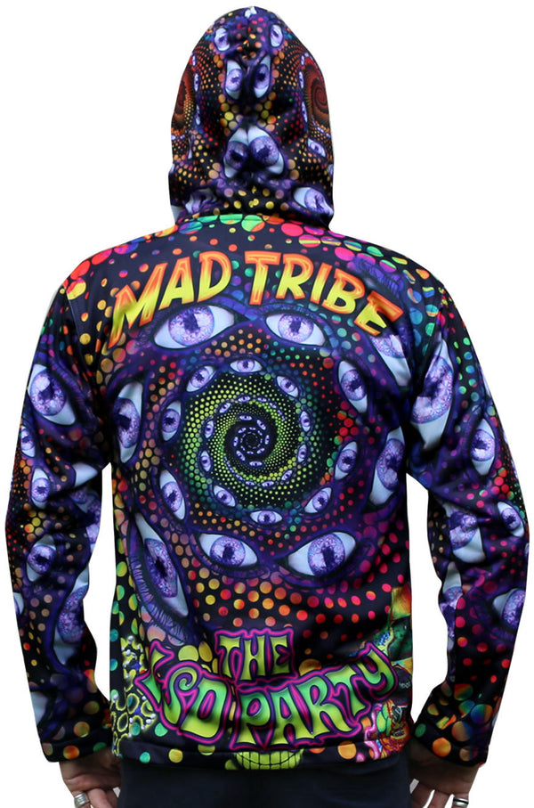 Sublime Hooded  Jacket : LSD Party - Men Jackets - Space Tribe