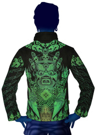 Morph Jacket (No Hood) : Lime Mahakala - Men Jackets - Space Tribe
