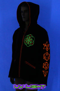 Morph Jacket Pixie Hood : Metatronic - Men Jackets - Space Tribe