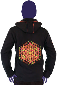 Morph Jacket Round Hood : Metatronic - Men Jackets - Space Tribe