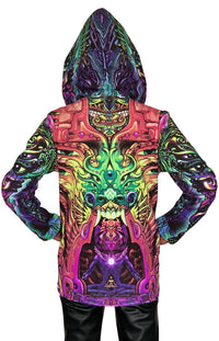 Womens Hooded Jacket : Alpha Centauri - Women Jackets - Space Tribe
