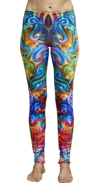 Sublime Leggings : Holographic Altar - Women Leggings - Space Tribe