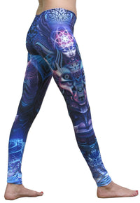 Sublime Leggings : Violet Foxy Lady - Women Leggings - Space Tribe