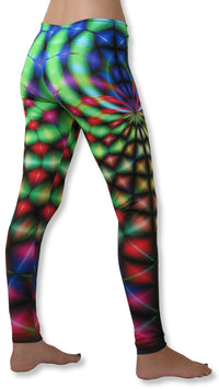 Sublime Leggings : Rainbow Web - Women Leggings - Space Tribe