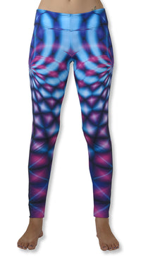 Sublime Leggings : Violet Web - Women Leggings - Space Tribe
