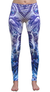 Sublime Leggings : Purple Plasm - Women Leggings - Space Tribe
