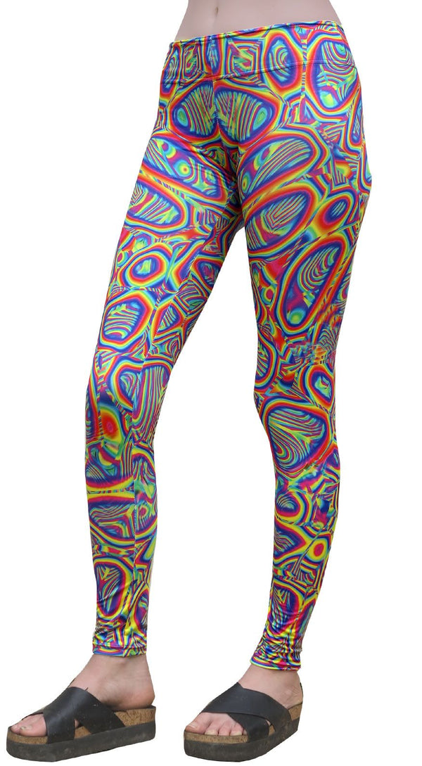 Sublime Leggings : Prismatic - Women Leggings - Space Tribe