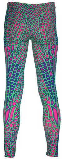 Full print Leggings : Acid Dragonfly