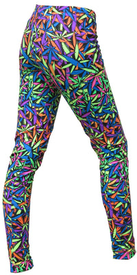 Full print Leggings : Juicy Fruit Weed - Women Leggings - Space Tribe