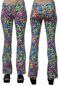 Lycra Flares : Juicy Fruit Weed