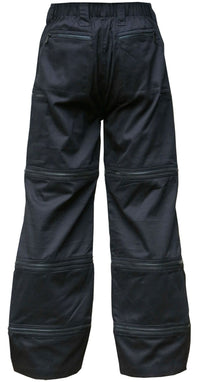 Psy-Traveller Pants : Black cotton - Men Pants - Space Tribe