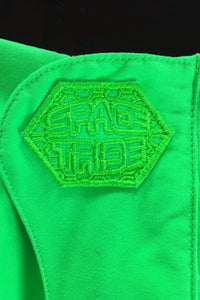 Cyber Pants : UV Lime - Men Pants - Space Tribe