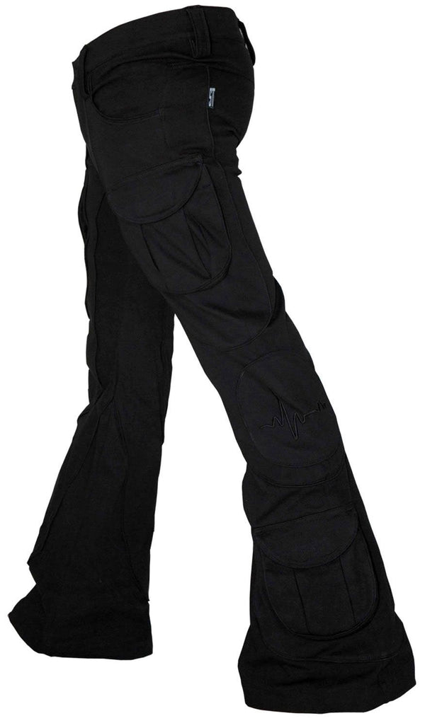 Tsunami Pants : Black - Men Pants - Space Tribe