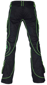 Tsunami Pants  : UV Lime Tri-skelion - Men Pants - Space Tribe