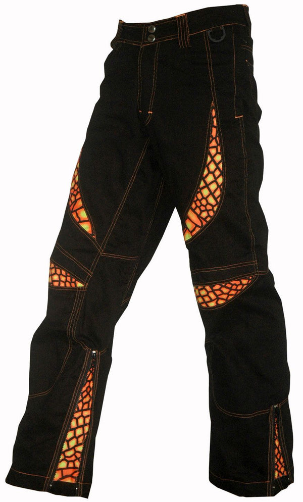Alien Eye Pants : Fire Dragonfly - Men Pants - Space Tribe