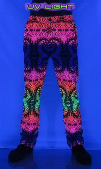 Chillout Pants : Rainbow Fractal - Men Pants - Space Tribe