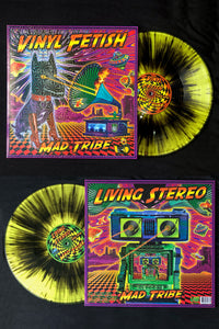 "Vinyl fetish - Living Stereo 12"" vinyl record : Mad Tribe - CD's - Space Tribe"