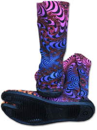 Ninja Boot  : Rainbow Fractal - Accessories - Footwear - Space Tribe