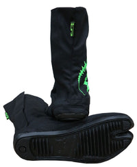 Ninja Boot  : UV Lime Tri-skelion - Footwear - Space Tribe