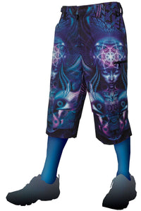 Cyber Shorts : Violet Foxy Lady - Men Shorts - Space Tribe