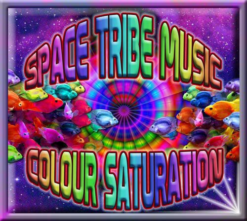 Colour Saturation : Various Artists - CD's - Space Tribe