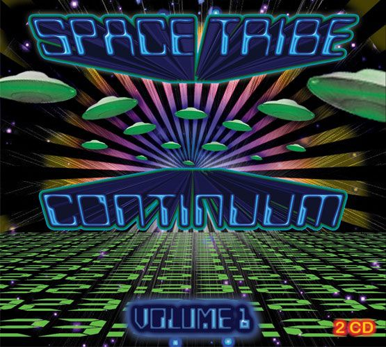 Space Tribe Continuum : Vol. 1 (2CD) - CD's - Space Tribe