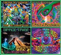 Space Tribe Continuum : Vol. 2 (2CD) - CD's - Space Tribe