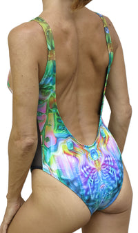 Mesh Swimsuit : Ocean Goddess - Women Swimwear - Space Tribe