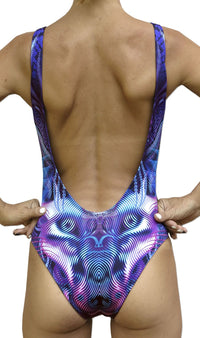 Mesh Swimsuit : Violet Foxy Lady - Women Swimwear - Space Tribe