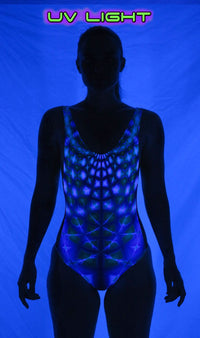 Mesh Swimsuit : Aquatic Web - Women Swimwear - Space Tribe