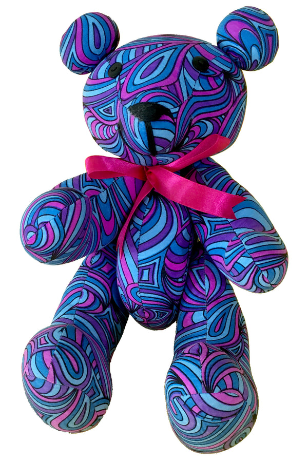 Teddy Bear : Blue Splash