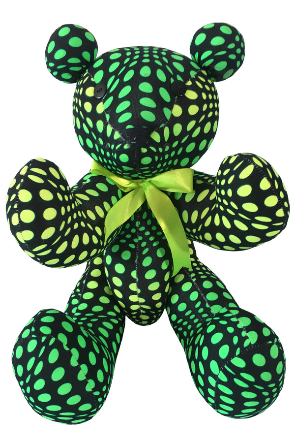 Teddy Bear : Lime Wobberelli - Accessories - Party Animals (Soft toys) - Space Tribe