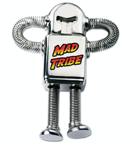 Amazing Tales : Robot USB stick : Mad Tribe - CD's - Space Tribe