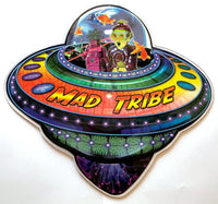 Out of this World - UFO shaped picture disc : Mad Tribe - CD's - Space Tribe