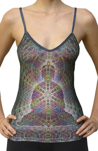 Sublime Strap Top : Rainbow Buddha - Women Tops - Space Tribe