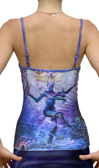 Sublime Strap Top : Serpentine Apotheosis - Women Tops - Space Tribe