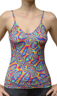 Sublime Strap Top : Prismatic - Women Tops - Space Tribe