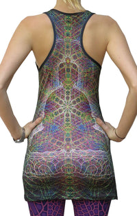 Sublime Tank Girl : Rainbow Buddha - Women Tops - Space Tribe