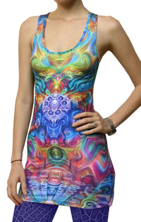 Sublime Tank Girl : Holographic Altar - Women Tops - Space Tribe